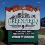 greenfield indiana sign