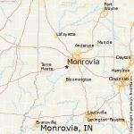 monrovia indiana map