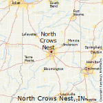 north crows nest map indiana
